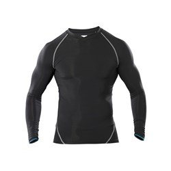 TLD ACE BASELAYER SHIRT LONGSLEEVE BLACK