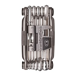 CRANKBROTHERS TOOL MULTI 17 NICKEL PLATING