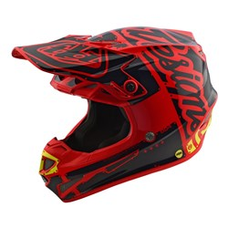 TLD 18 YTH SE4 ECE POLY HELMET FACTORY RED