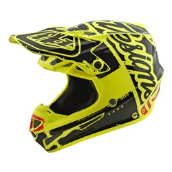 TLD 18.2 YTH SE4 POLY HELMET FACTORY YELLOW