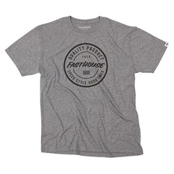 FASTHOUSE QUALITY TEE HEATHER GRAY