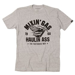 FASTHOUSE MIXIN GAS TEE HEATHER GREY
