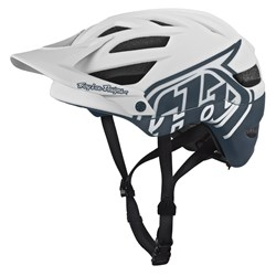 TLD 18 A1 AS HELMET DRONE WHITE GREY