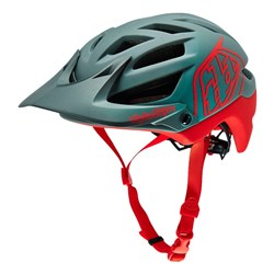 TLD 16 A1 HELMET DRONE GRY/RED