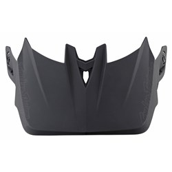 TLD 21 ER D4 VISOR STEALTH BLACK / GREY