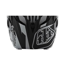 TLD 21 ER D4 VISOR SLASH BLACK / SILVER