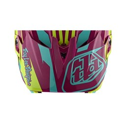 TLD 21 ER D4 VISOR SLASH PURPLE / YELLOW