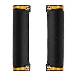 CRANKBROTHERS GRIP COBALT FOAM 130MM GOLD CLAMPS
