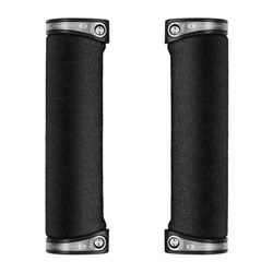 CRANKBROTHERS GRIP COBALT FOAM 130MM SILVER CLAMPS