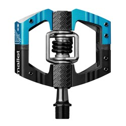 CRANKBROTHERS PEDAL MALLET E LONG SPINDLE  BLACK & BLUE BOD