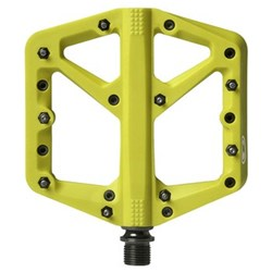 CRANKBROTHERS PEDAL STAMP 1 LARGE CITRON