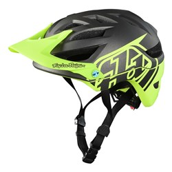 TLD 18 A1 AS HELMET YOUTH CLASSIC DARK GREY YELLOW YTH