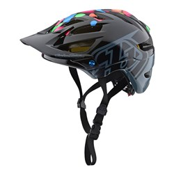 TLD 18 A1 AS HELMET YOUTH JELLY BEANS BLACK GREY YTH