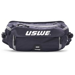 USWE 21 ZULO 6 WAIST BELT HYDRATION COMPATIBLE NOT INCL BLACK