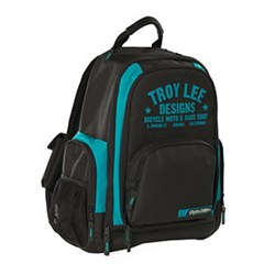 TLD BASIC BACKPACK RACE SHOP BLACK TURQUIOSE