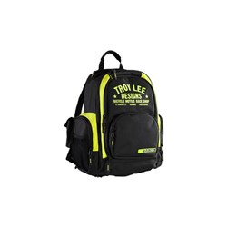 TLD 15 RACE SHOP BACKPACK YELLOW / BLACK BASIC BACKPACK