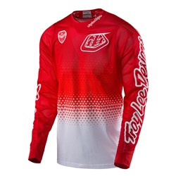 TLD 17 SE AIR JERSEY STARBURST WHT/RED