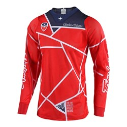TLD 18.2 SE AIR JERSEY METRIC RED / NAVY