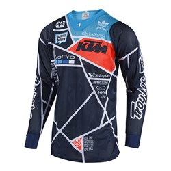 TLD 18.2 SE AIR JERSEY METRIC KTM TEAM NAVY / ORANGE