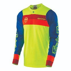 TLD 17 SE AIR JERSEY CORSA FLO YELLOW