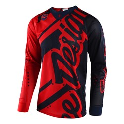 TLD 18 SE AIR JERSEY SHADOW RED/NVY