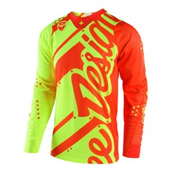TLD 18 SE AIR JERSEY SHADOW FLO YEL/ORG