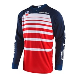 TLD 18 SE JERSEY STREAMLINE RED/NVY