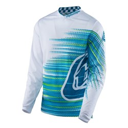 TLD 17 GP AIR JERSEY ELECTRO WHITE