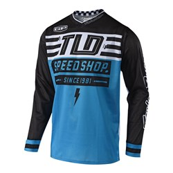 TLD 18.2 GP AIR JERSEY BOLT OCEAN
