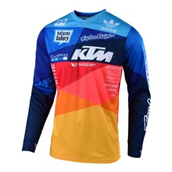 TLD 19 GP AIR JERSEY JET KTM TEAM NAVY / ORANGE MED