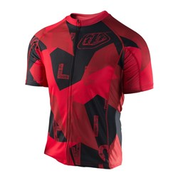 TLD 17 ACE 2.0  JERSEY CHOP BLOCK RED