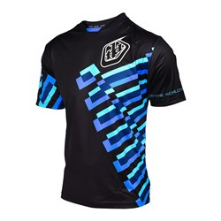 TLD 17 SKYLINE JERSEY FORCE BLACK