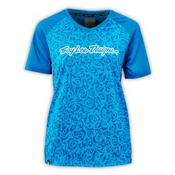 TLD 16 WMNS SKYLINE JERSEY EVIL TURQUOISE