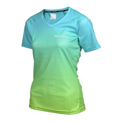 TLD 17 WMNS SKYLINE JERSEY DISSOLVE TURQUOISE