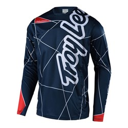 TLD 18 SPRINT YTH JERSEY METRIC NVY / RED