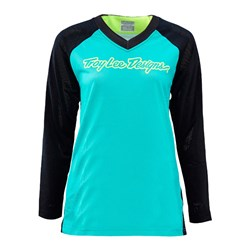 TLD 16 WMNS MOTO JERSEY TURQUOISE