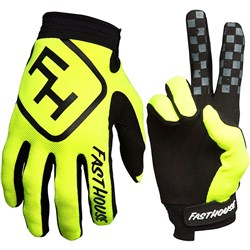 FH 18 SPEED STYLE GLOVE FLO YELLOW