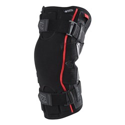 TLD 6400 KNEE BRACE PAIR BLACK
