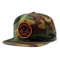 FASTHOUSE CHECKERS HAT CAMO OSFA
