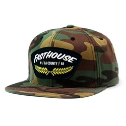 FASTHOUSE THE GENERAL HAT CAMO OSFA