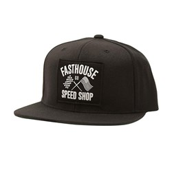 FASTHOUSE FAST FLAGS HAT BLACK OSFA