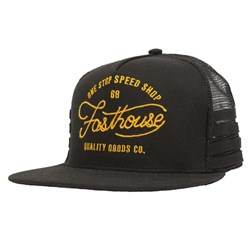 FASTHOUSE ONE STOP HAT BLACK OSFA