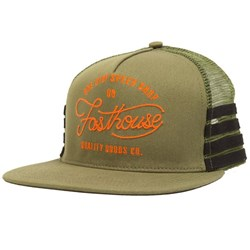 FASTHOUSE ONE STOP HAT OLIVE OSFA