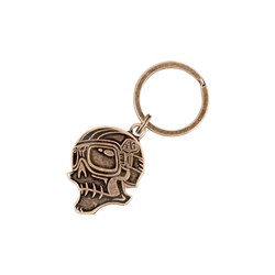 TLD W15 SKULLY KEYCHAIN ANTIQUE COPPER