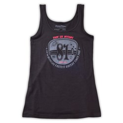 TLD S15 WMN PLATED TANK BLACK