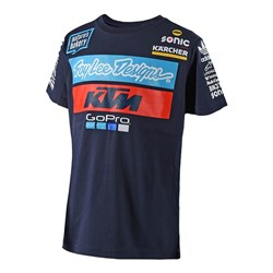 TLD 18 KTM TEAM YTH TEE NAVY
