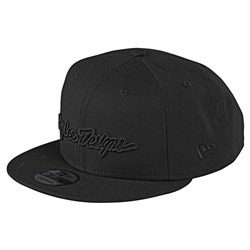 TLD 21 SIGNATURE HAT BLACK OSFA