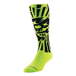 TLD GP MOTO SOCKS SKULLY YELLOW