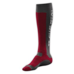 TLD MX MOTO SOCKS RED GREY
