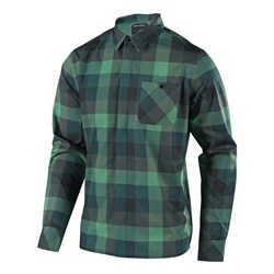 TLD 18 GRIND FLANNEL DEEP FOREST
